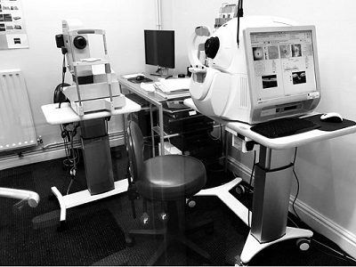 OCT SCAN Sherratt Opticians CREWE